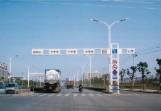 T型框架信号灯杆YH-024