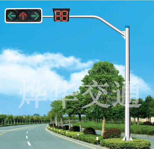 单悬臂信号灯杆